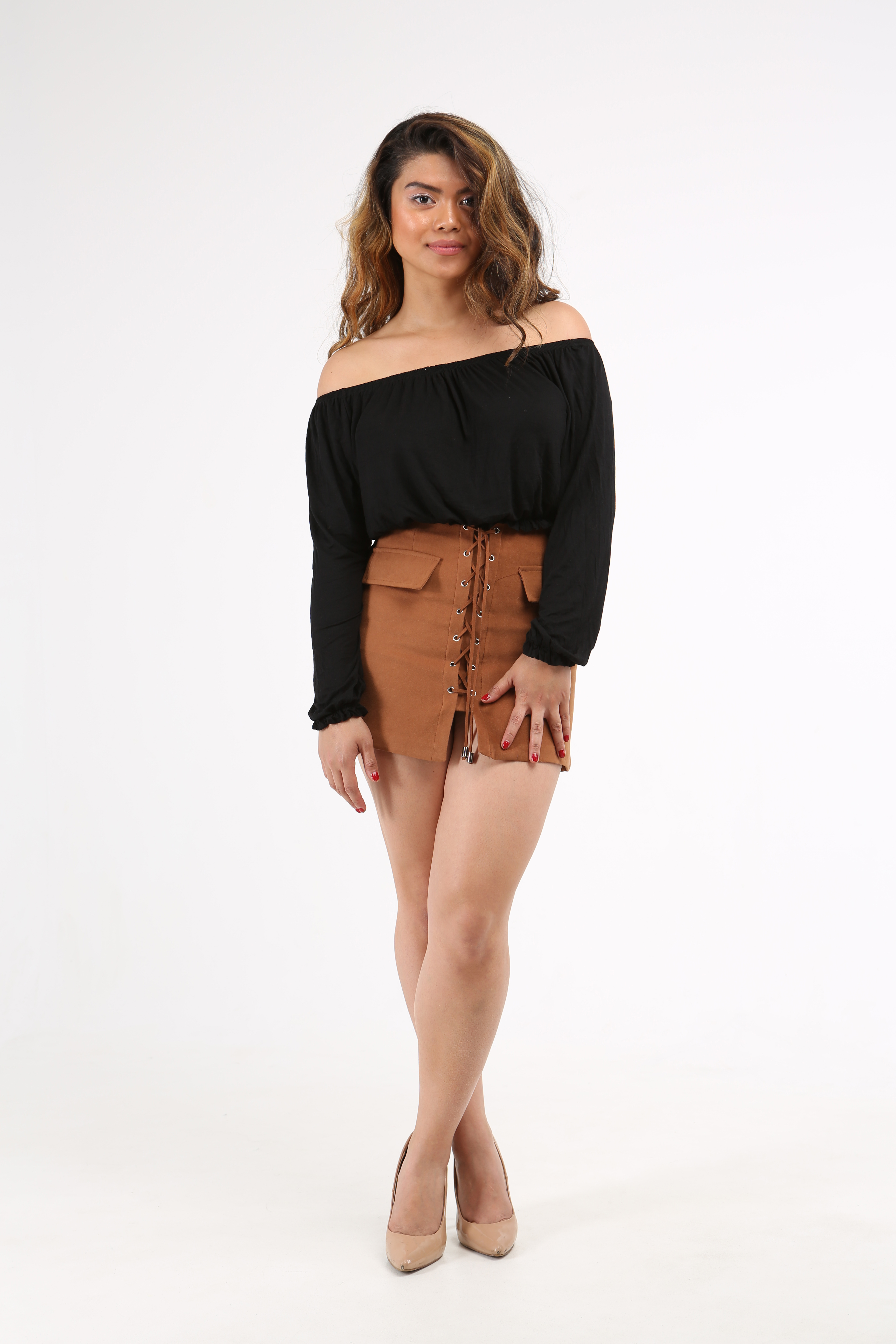 f6979cea58511 The French 95 - Swiss online shopping for women s fashion - Shop black  bardot gypsy tops ...