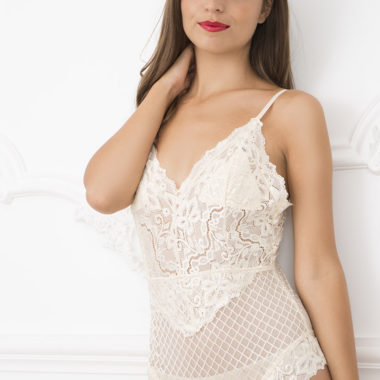 Louise-Marie Lace Bodysuit