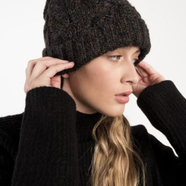 Braid Knit Beanie