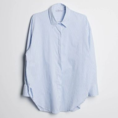 Striped Classic Poplin Shirt