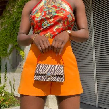 Classic Suit Shorts – Orange