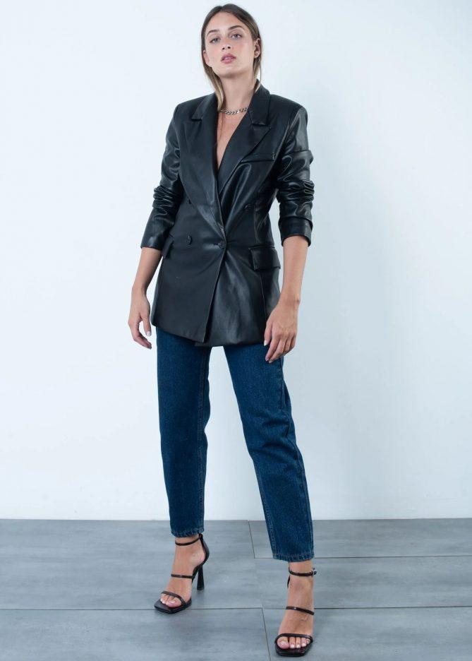 Dark Blu Mom Jeans